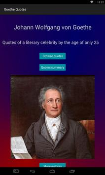 Goethe Quotes poster