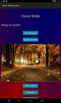 Oscar Wilde Quotes screenshot 3