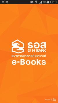 G H BANK e-Books poster