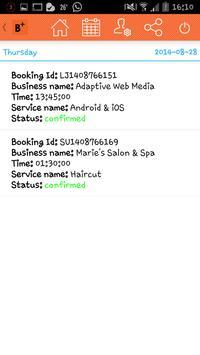 Booked+ apk screenshot