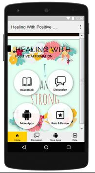 Healing With Positive Affirmations poster