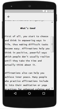 Healing With Positive Affirmations screenshot 1