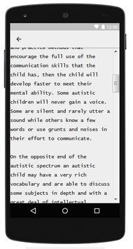 Autism Guide screenshot 1