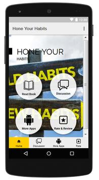 Hone Your Habits poster