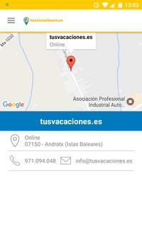 tusvacaciones.es apk screenshot