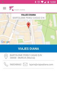 Viajes Diana screenshot 5