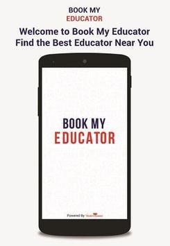 Book My Educator poster