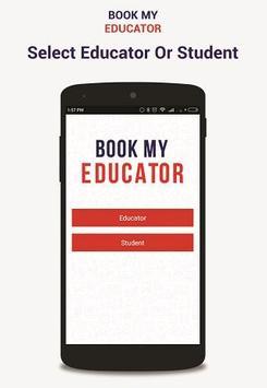 Book My Educator screenshot 1