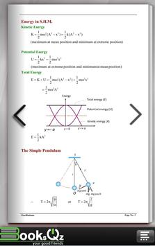 Oscillations Physics Formula e-Book apk screenshot