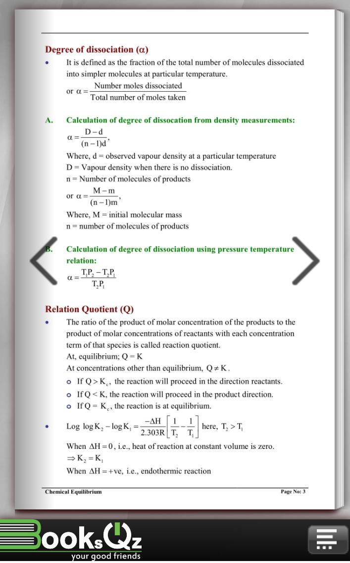 Chemical Equilibrium for Android - APK Download