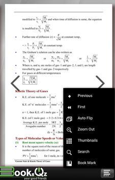 Gaseous State & KTG Gases Chemistry Formula e-Book apk screenshot