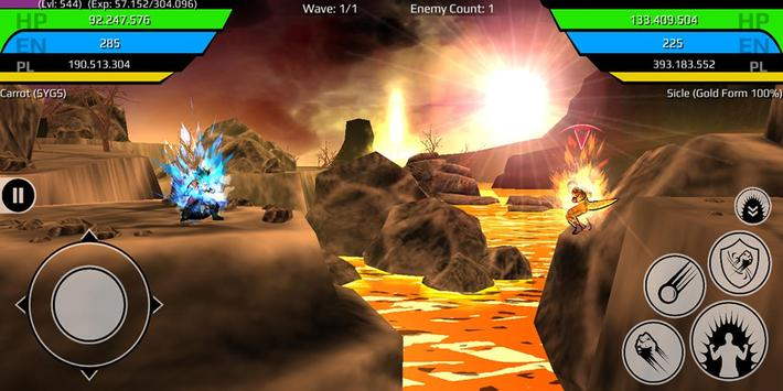 The Final Power Level Warrior screenshot 4