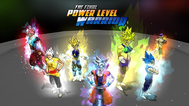 The Final Power Level Warrior poster