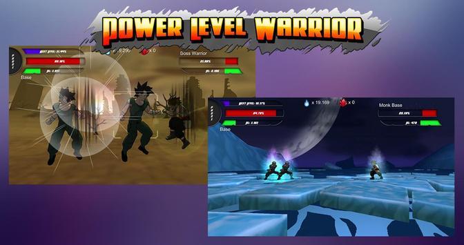 Power Level Warrior apk screenshot
