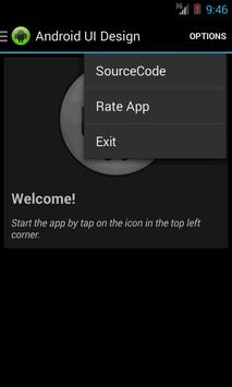 UI Design for Android screenshot 3