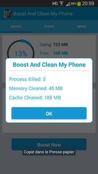 Boost And Clean My Phone apk screenshot