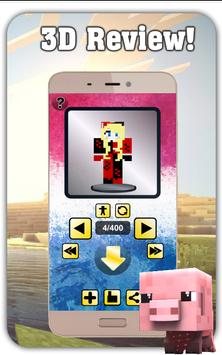 Harley Quin Skin for MINECRAFT PE apk screenshot