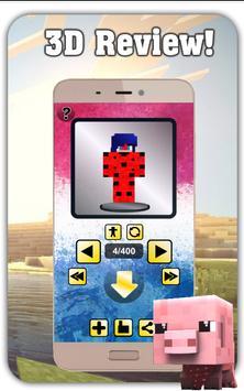 LADYBUG Skin for MINECRAFT PE screenshot 15