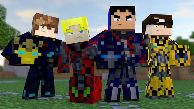 Skin Power Ranger for Minecraft PE screenshot 16