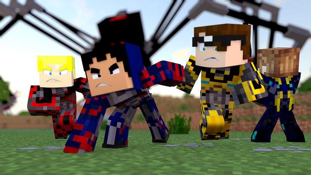 Skin Power Ranger for Minecraft PE screenshot 2