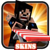 Skin WWE For MINECRAFT PE icon