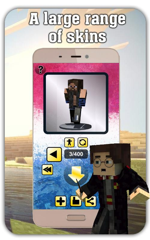 Skin WWE For MINECRAFT PE For Android APK Download - Skins para minecraft pe de wwe