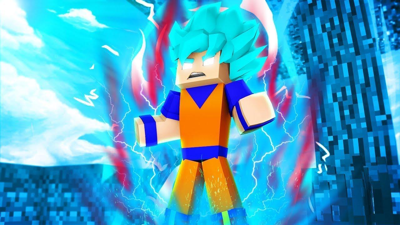 Super Saiyan Goku skins for MCPE para Android - APK Baixar