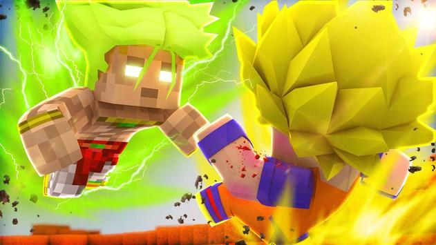 Super Saiyan Goku Skins For MCPE For Android APK Download - Skins para minecraft pe de goku