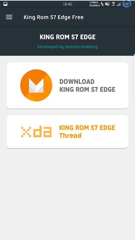 S7 Edge Rom