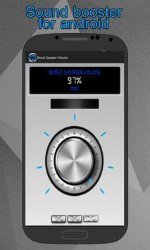 Boost Speaker Volume apk screenshot