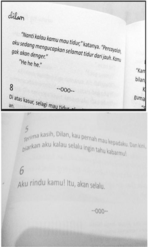 Kata Romantis Novel Dilan 1990 Für Android Apk Herunterladen