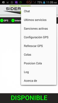 Taxista Siderense screenshot 1