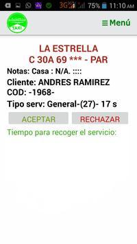 Taxista Siderense screenshot 2