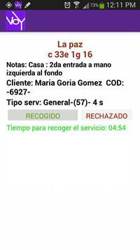 Taxista Voy screenshot 2