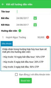 JoGuide - Kết nối hướng dẫn viên du lịch apk screenshot