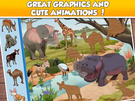 Fun Puzzle:  World Animals screenshot 13