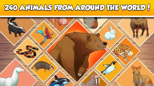 Fun Puzzle:  World Animals screenshot 1