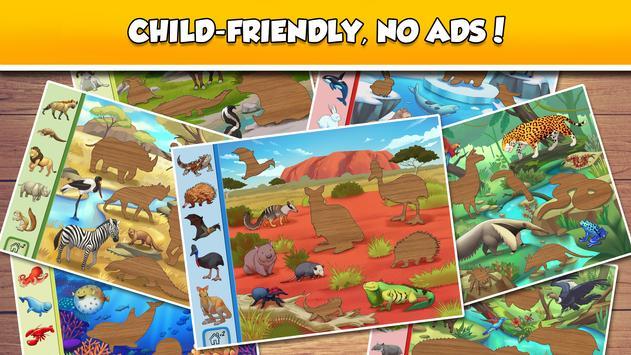Fun Puzzle:  World Animals screenshot 2