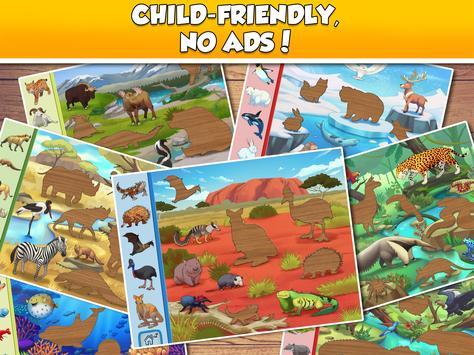 Fun Puzzle:  World Animals screenshot 7