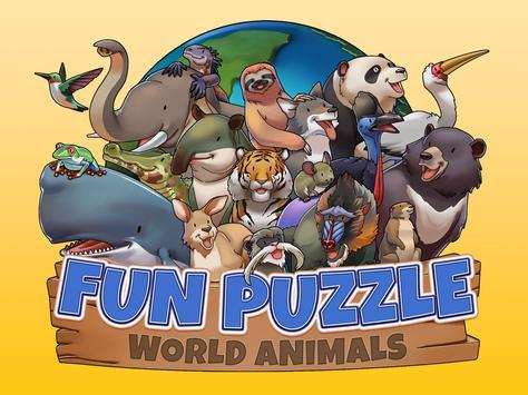 Fun Puzzle:  World Animals screenshot 9