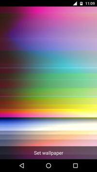 Colorful Bars Video LWP apk screenshot