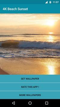 Beach Sunset Video LWP poster