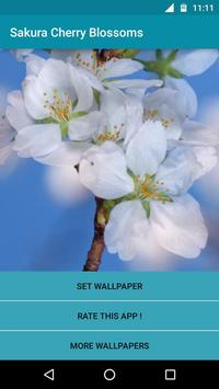Sakura Cherry Blossoms LWP poster