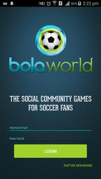Bola World – Game Online Bola poster