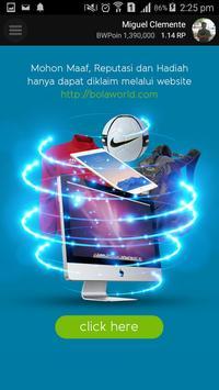 Bola World – Game Online Bola apk screenshot