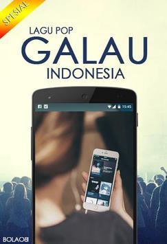 Lagu Pop Galau Indonesia poster