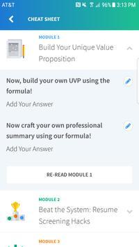 MyPerfectResume Edge apk screenshot