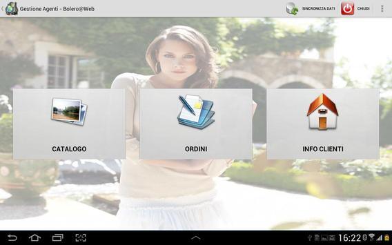 Bolero@Web - Management Agents screenshot 1