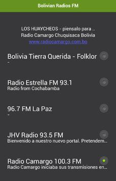 Bolivian Radios FM poster