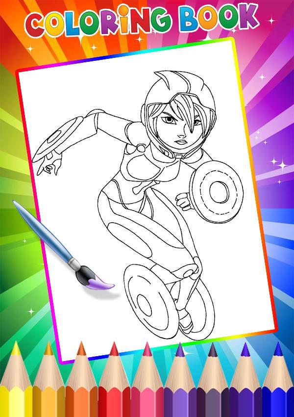 How To Color Disney Heroes For Android Apk Download